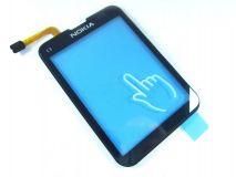 Сенсорное стекло (тачскрин) Nokia C3-01 black