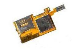 Шлейф Sony Ericsson K770i/ T650i с разъемом под сим карту и карту памяти